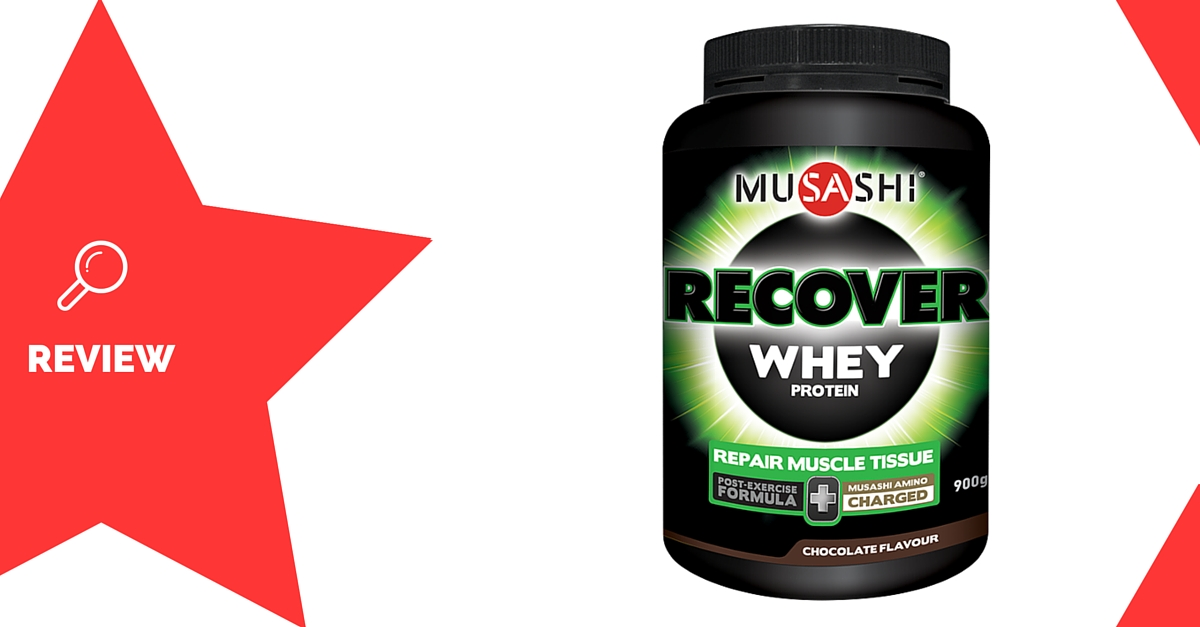 Recover Whey by Musashi Review