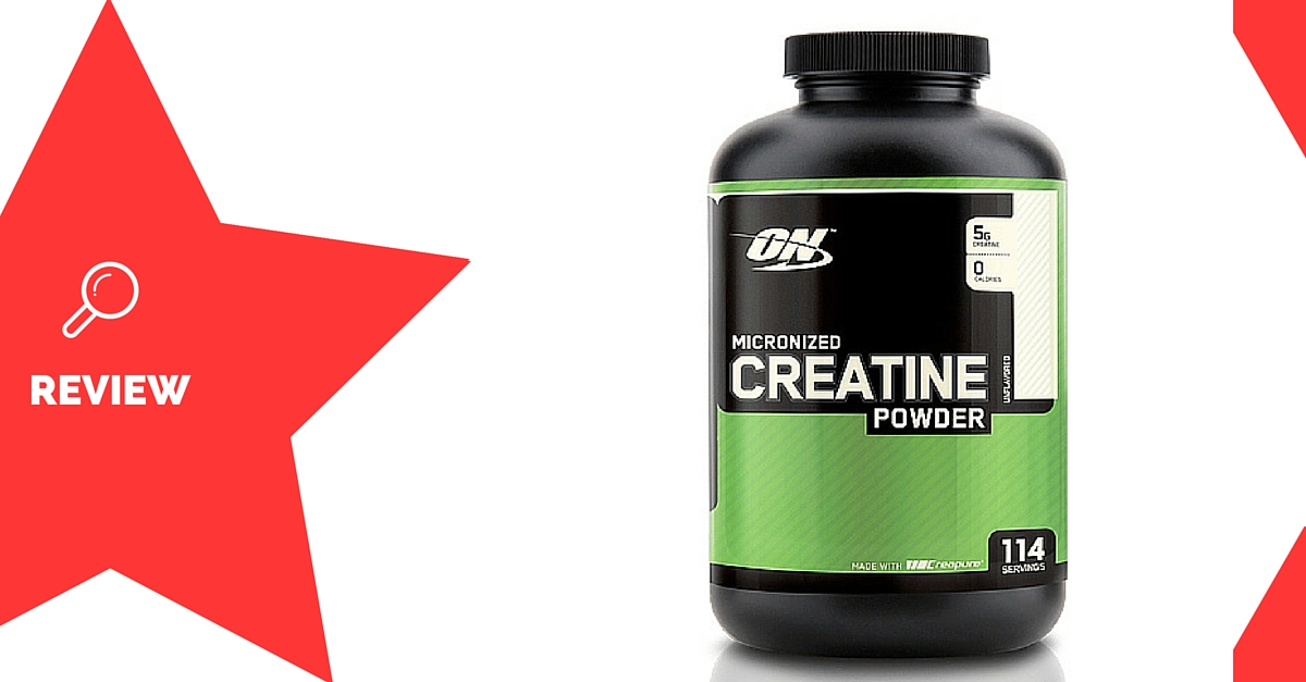 Optimum Micronized Creatine Powder by Optimum Nutrition Review