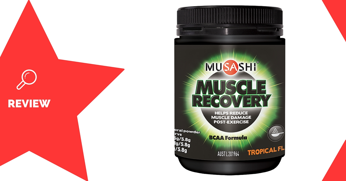 Musashi Muscle Recovery Supplement Review