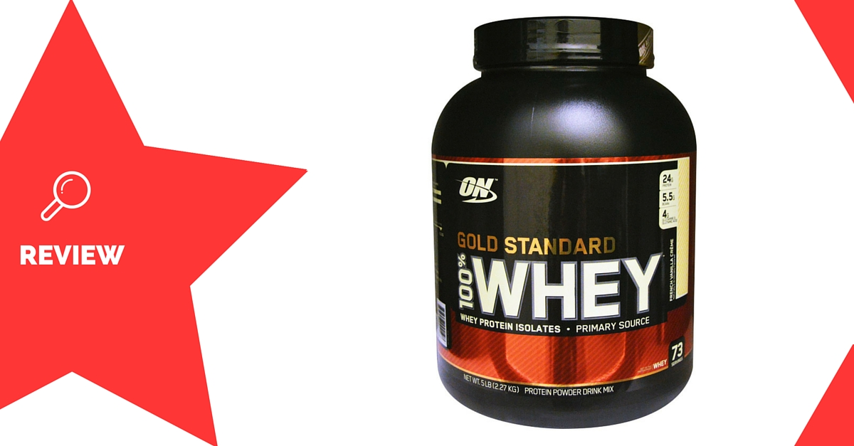 Optimum-nutrition-gold-standard-100%-whey-protein-Supplements-Review