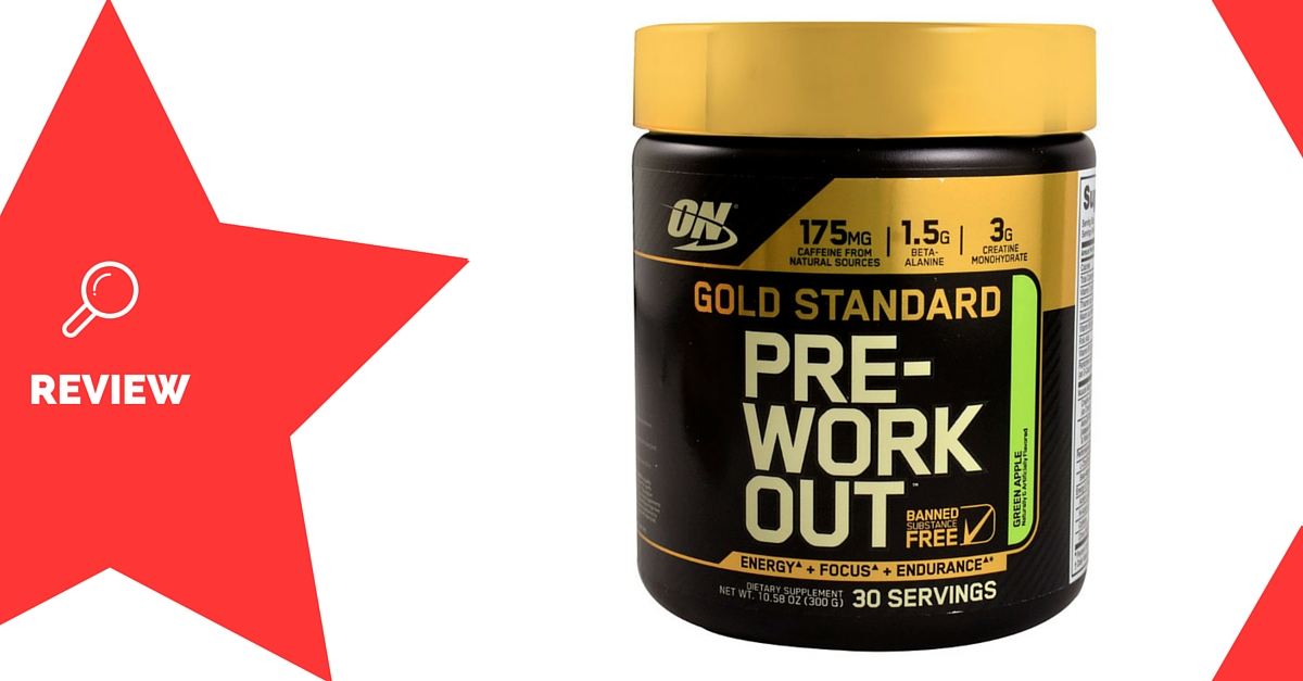 Gold Standard Pre-Workout Review