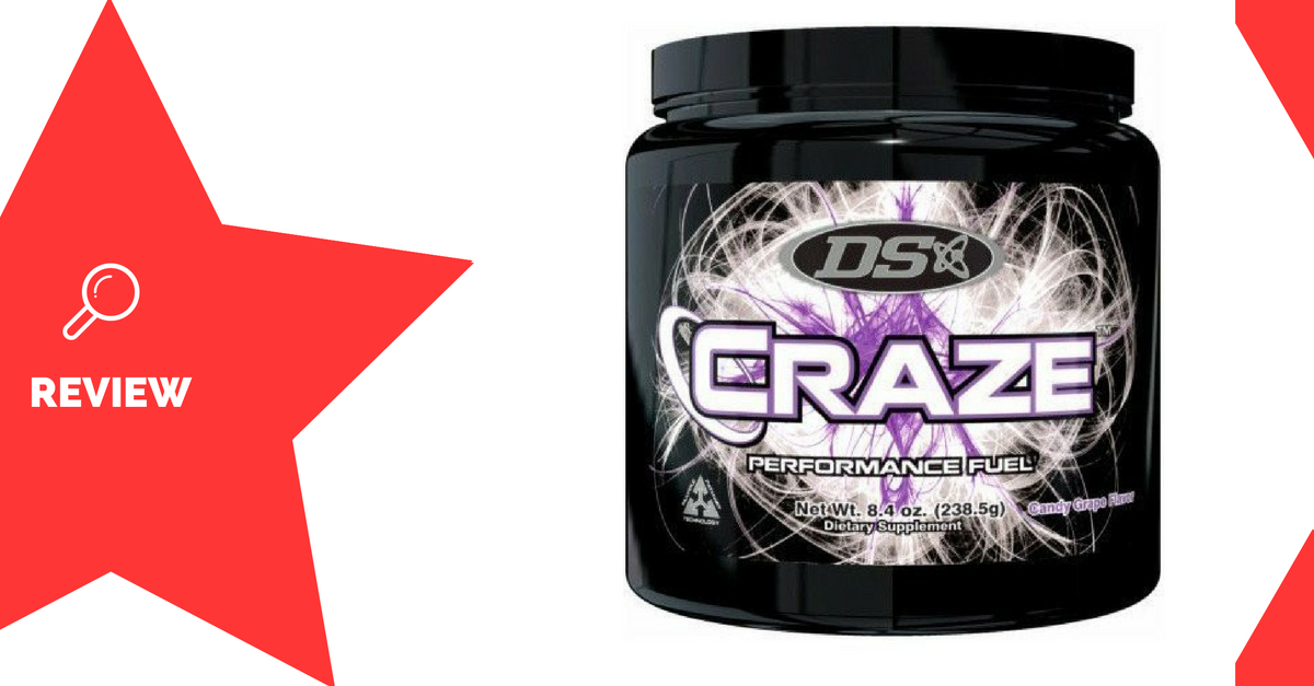 CRAZE Pre-Workout Review