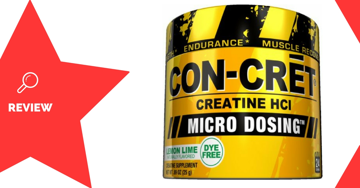 Con-Cret Creatine HCl Review