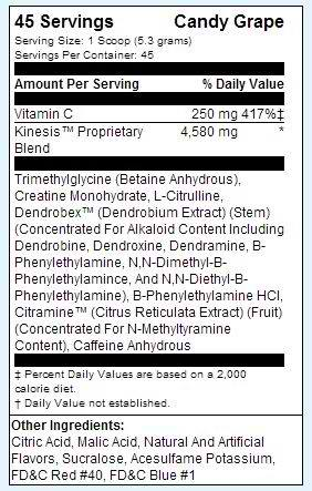 craze-pre-workout-ingredients