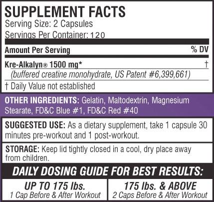 efx-kre-alkalyn-creatine-ingredients