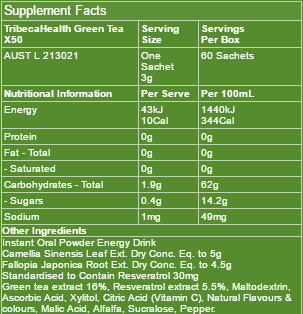green-tea-x50-ingredients