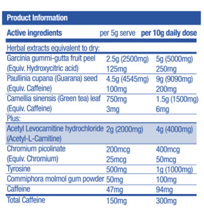 hydroxy-shred-ingredients