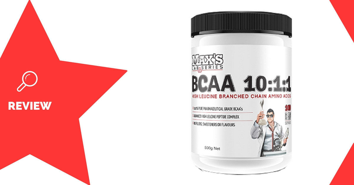 Max's BCAA 10-1-1 Review