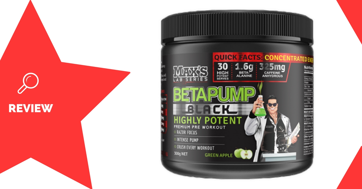 MAX's BetaPump Black Review