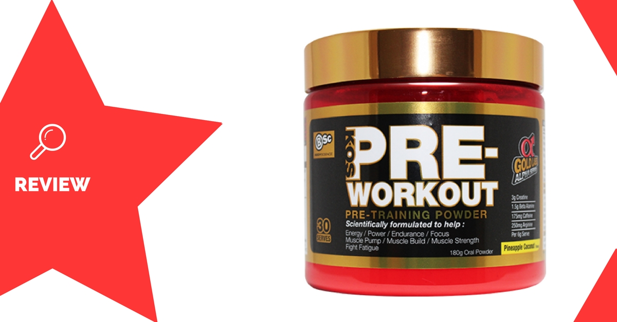 K-OS Pre-Workout Review