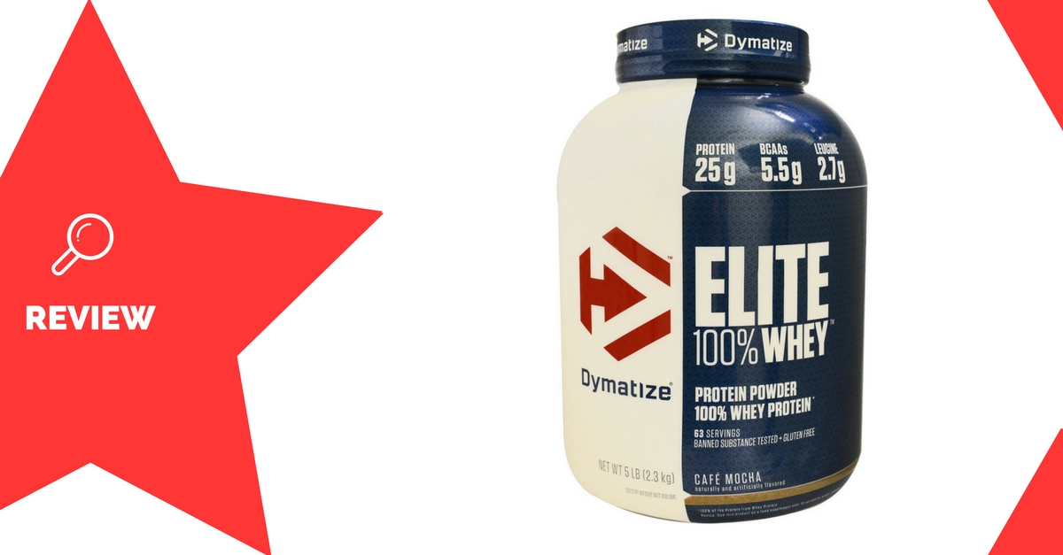 Dymatize Nutrition Elite 100% Whey Review
