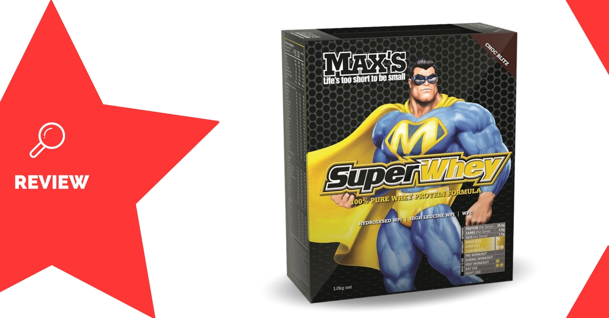 Max's Super Whey Protein Powder Review