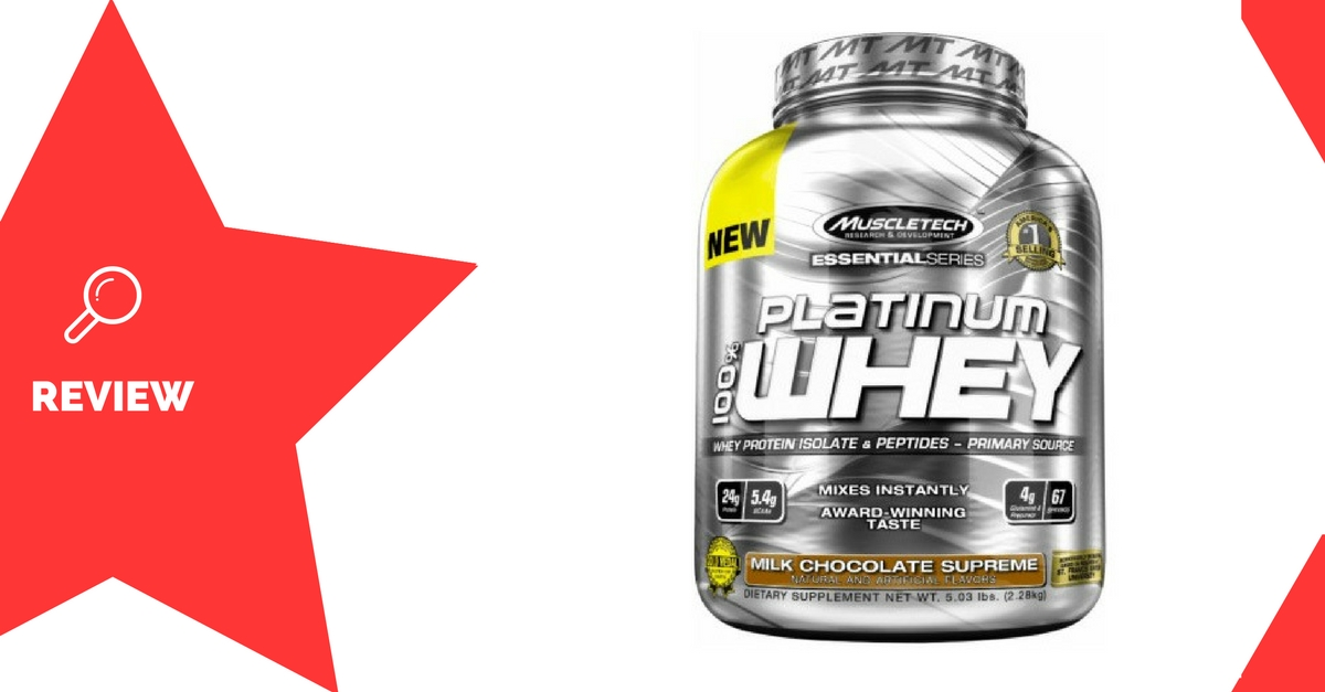Muscletech Platinum 100% Whey Review