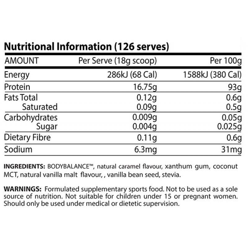 ATP Science NOWAY Protein Ingredients