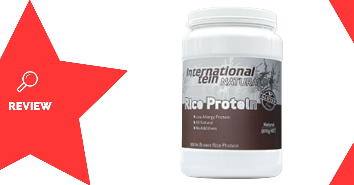 International Protein Rice Protein Review
