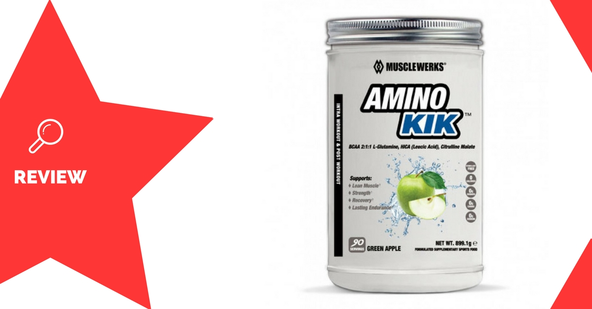 MuscleWerks Amino Kik Review