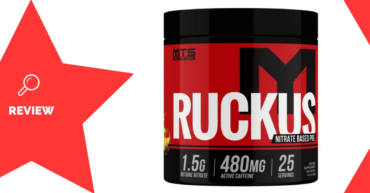 MTS Nutrition Ruckus Review