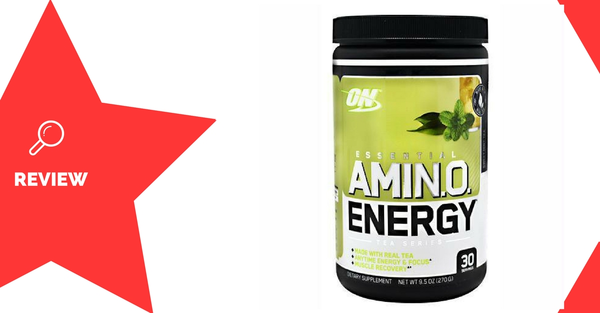 Essential Amino Energy Tea Series Review