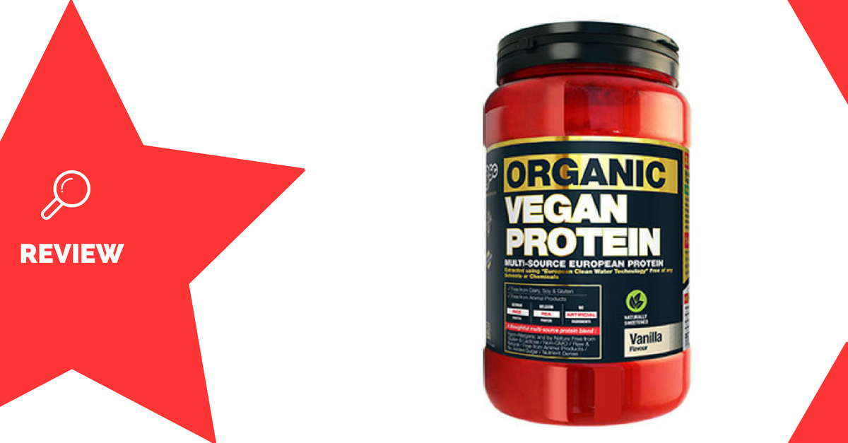 BSc Organic Vegan Protein Review