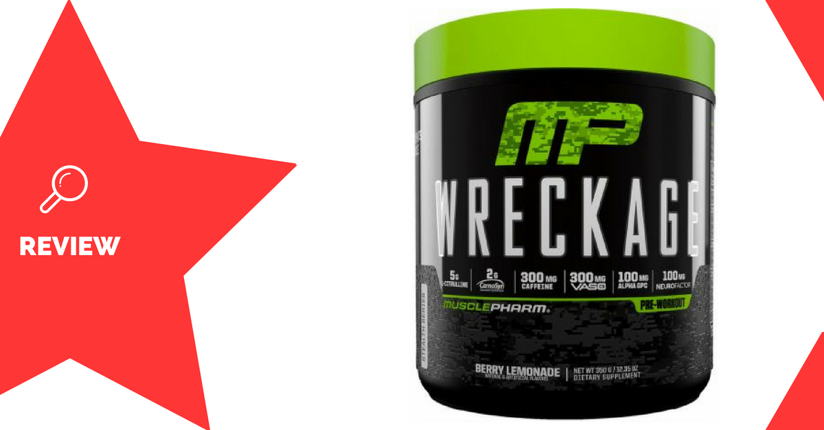 MusclePharm Wreckage Review