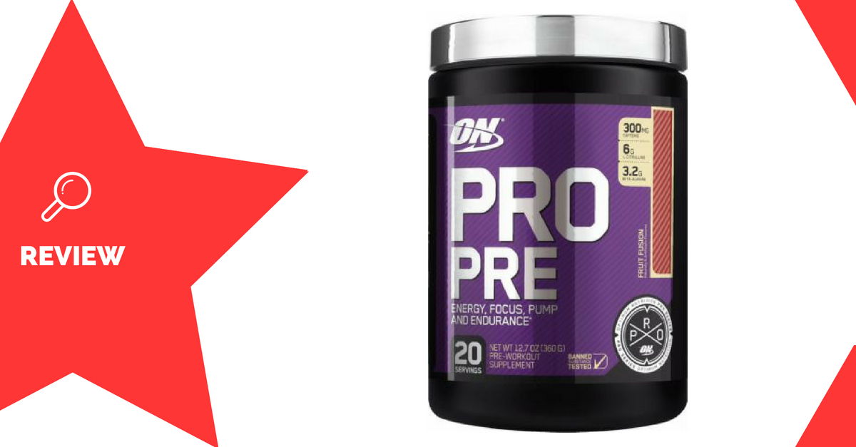 Optimum Nutrition Pro Pre Review