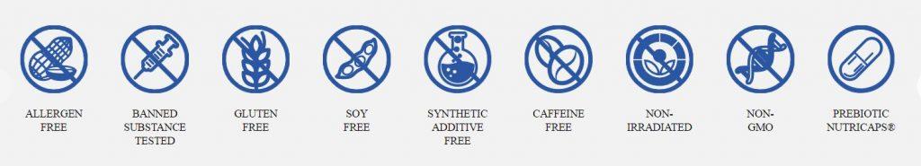 Performance Lab NutriGenesis Multi is a super clean formula