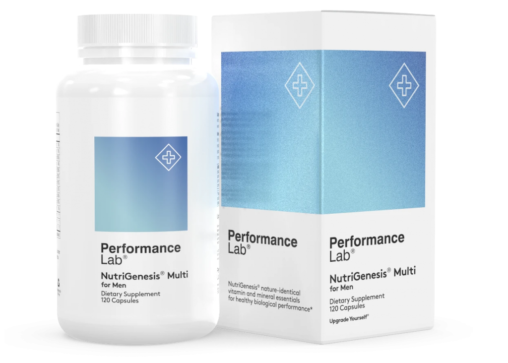 Performance Lab NutriGenesis Multi for Men is the best multivitamin for men over 50