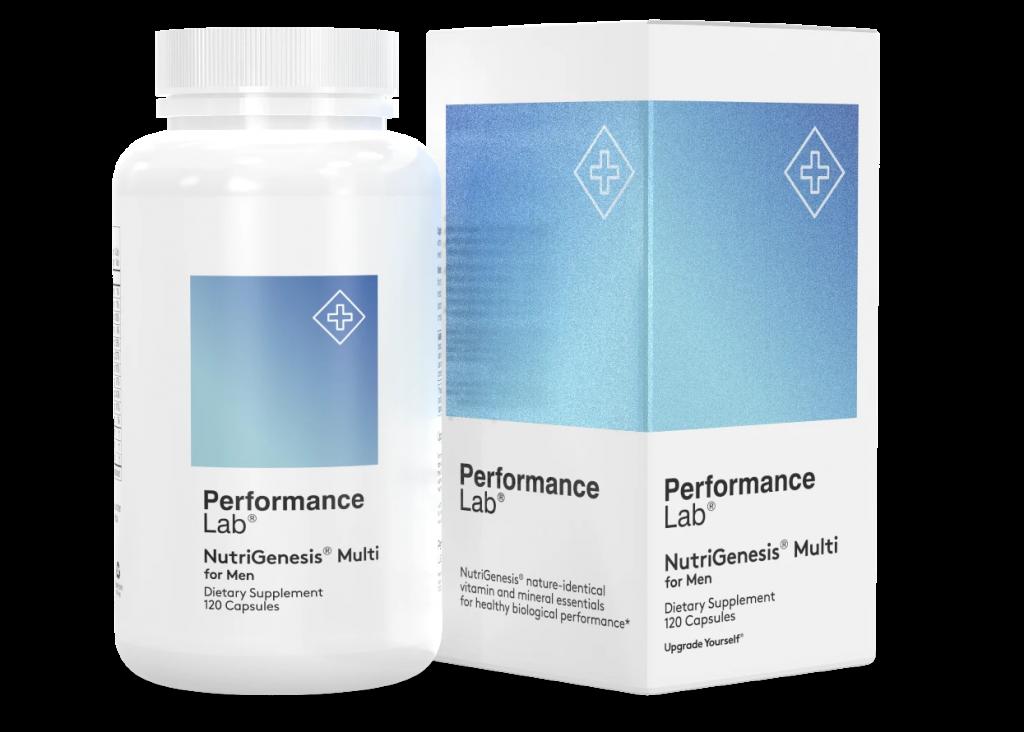 Performance Lab NutriGenesis Multi for Men is the best multivitamin for men over 50
